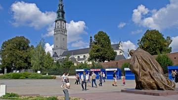 Pielgrzymi z Łowicza ruszyli na Jasną Górę. Interweniowała policja