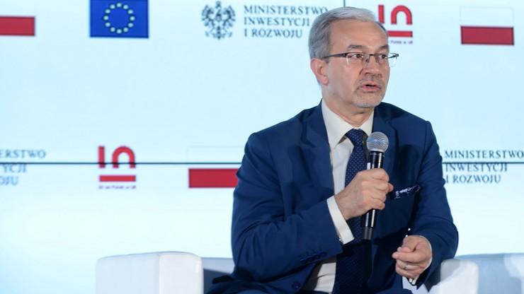 Kwieciński: prawie 3 tys. euro przypadło na statystycznego Polaka z funduszy unijnych