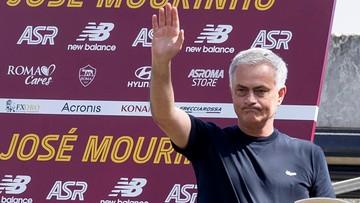 Innowacyjny trening Romy. Mourinho zażyczył sobie drona (WIDEO)