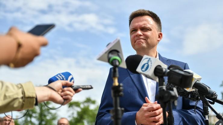 Hołownia: Polska nie należy tylko do PiS-u i Platformy