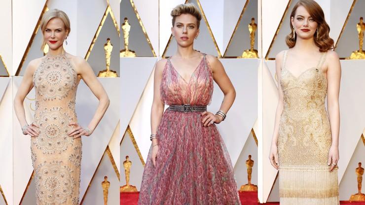 Oscary na czerwonym dywanie