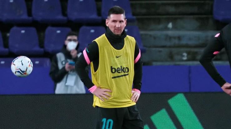 La Liga: Leo Messi nie zagra w najbliższym meczu Barcelony