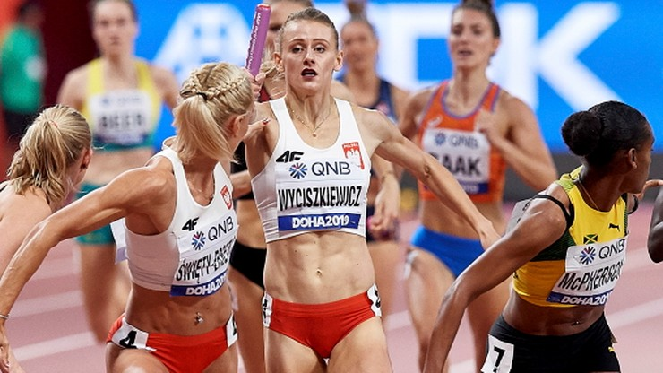MŚ Doha 2019: Fenomenalny rekord Polski i srebro sztafety 4x400 m