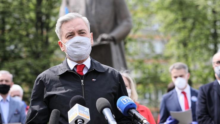 Biedroń chce posiedzenia Sejmu w formie stacjonarnej