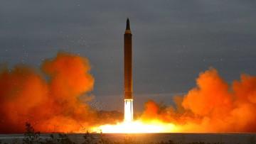 """""""Zajmiemy się Koreą Północną"""". Trump po przeprowadzeniu przez ten kraj testu rakiety balistycznej"""
