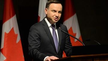Andrzej Duda zaprosił kanadyjskich żołnierzy do Polski