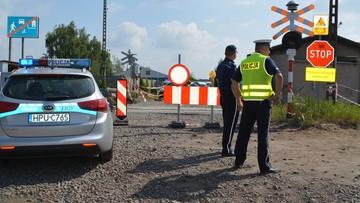 Pociąg śmiertelnie potrącił 16-letniego rowerzystę. Wypadek na przejeździe kolejowym w Lesznie