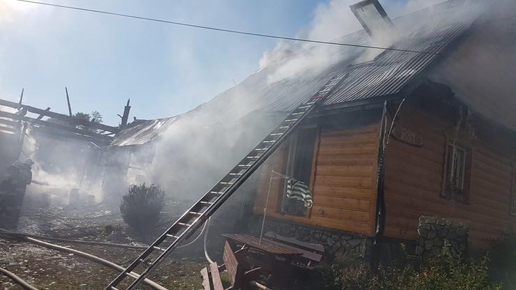 Pożar domu we wsi w Małopolsce. Nie żyje jedna osoba
