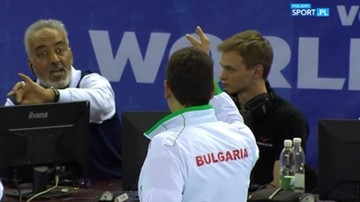 Challenge z błędem. Komiczna sytuacja w meczu Polska - Bułgaria