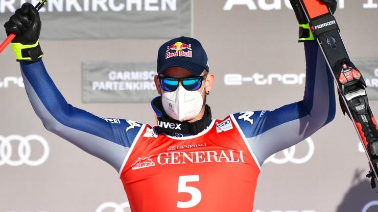 Alpejski PŚ: Paris wygrał zjazd w Garmisch-Partenkirchen