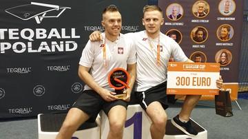 Duszak: Teqball w Polsce rozwija się bardzo szybko. Przybywa zawodników i stołów