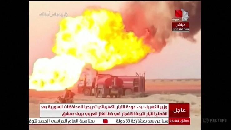 Syria bez prądu. Eksplodował rurociąg gazowy