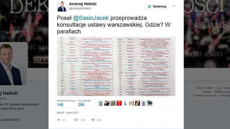 W parafiach i na dworcach kolejowych - konsultacje społeczne w sprawie metropolii warszawskiej