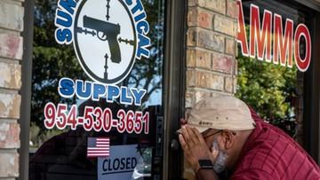 Demonstracje zwolenników kontroli broni palnej na Florydzie