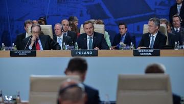 Duda: jestem dumny, że Warszawa jest gospodarzem NATO