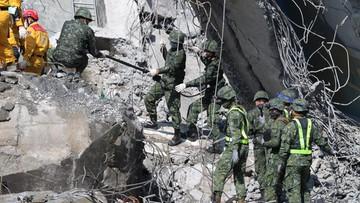Na Tajwanie ludzie wciąż pod gruzami. Rośnie liczba ofiar