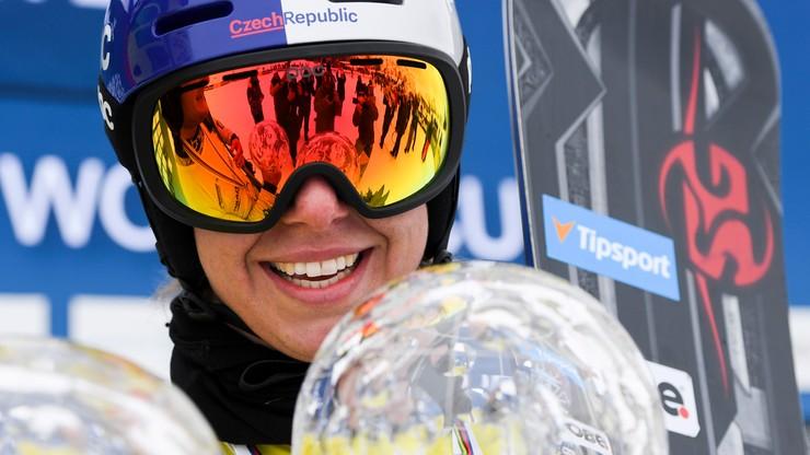PŚ w snowboardzie: Ledecka z kolejnym trofeum