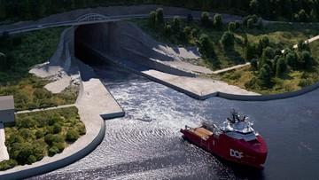 Powstanie pierwszy tunel dla statków. Budowę planowano od 100 lat