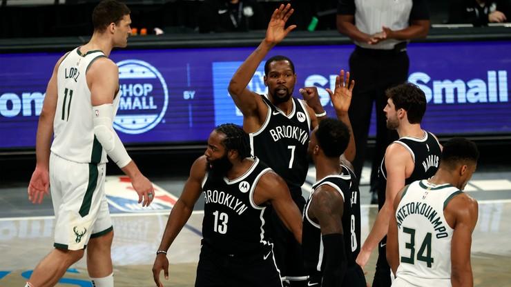 """NBA: Nieudany debiut """"Wielkiej Trójki"""" z Brooklyn Nets"""