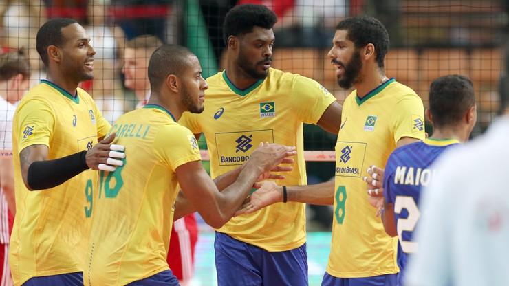 Liga Narodów siatkarzy: Brazylia wygrała z Włochami na zakończenie fazy zasadniczej