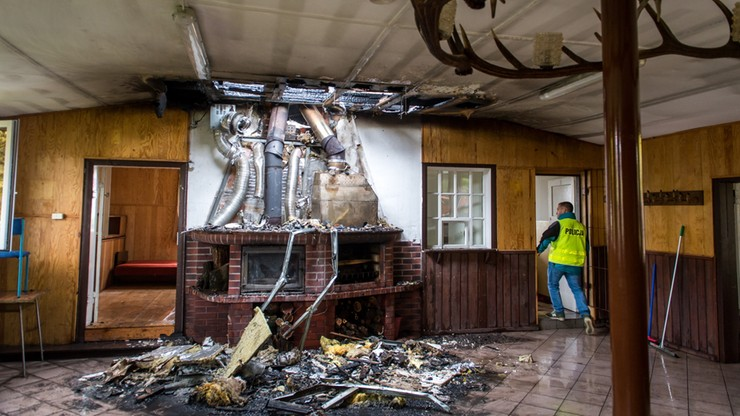 Pożar w lokalu wyborczym w Biskupinie. Głosowania nie przedłużono