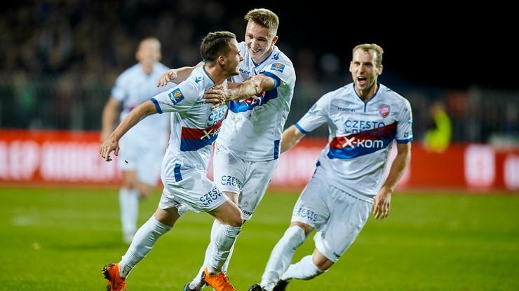 Fortuna 1 Liga: Raków Częstochowa zagra z czwartą w tabeli Puszczą