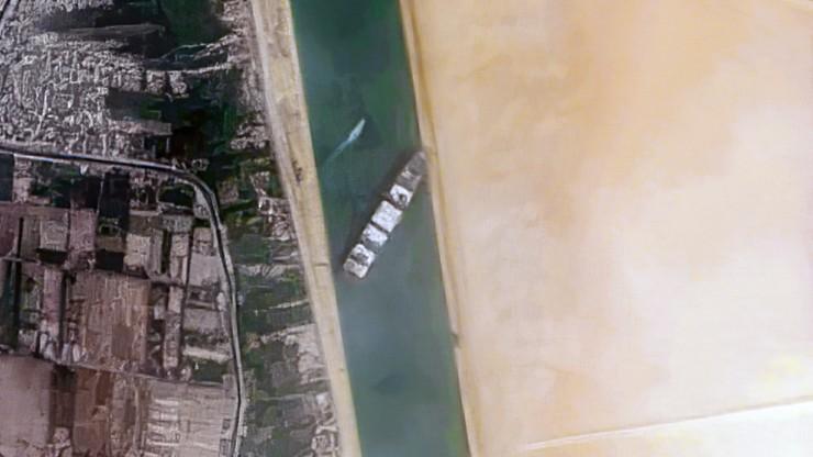 Kontenerowiec blokował Kanał Sueski. Został skonfiskowany