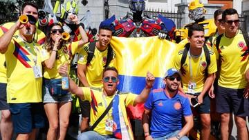 Kolumbijscy kibice opanowali Kazań. Wieczorem starcie z Polską