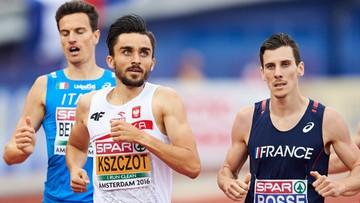 Złoto Adama Kszczota w mistrzostawch Europy w biegu na 800 m