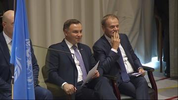 Karczewski: podejrzewam, że zachowanie Dudy i Tuska spowodowane było słowami Trumpa