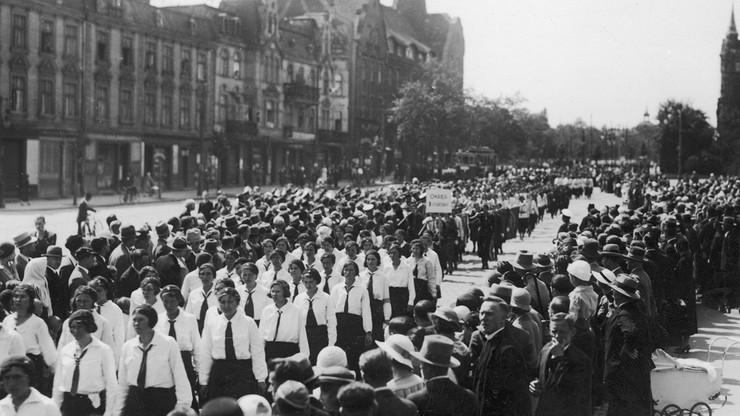 Zlot Związku Młodych Polek w 15. rocznicę utworzenia związku w Poznaniu, 1934