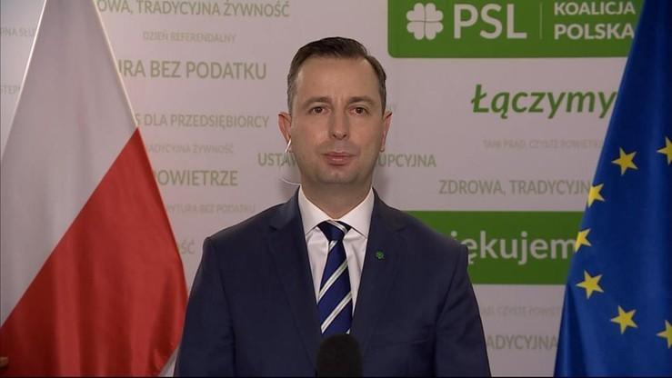 Członkostwo Polski w UE. PSL zgłasza wniosek o zmianę konstytucji