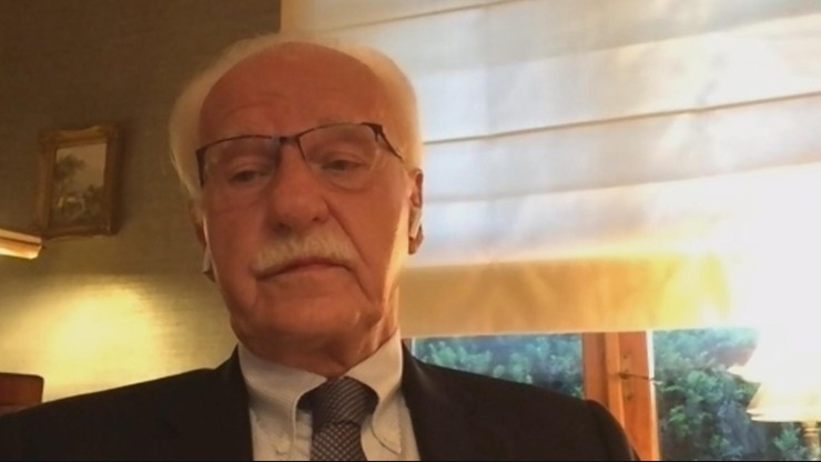 """Andrzej Olechowski w """"Debacie Dnia"""": Tusk wrócił z impetem, pełen wigoru"""