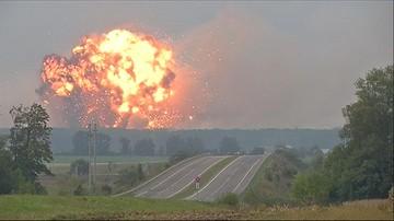Pożar składów amunicji na Ukrainie. Ewakuowano 30 tys. ludzi