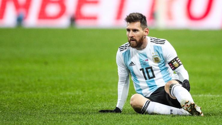 MŚ 2018: Argentyna oczekuje od Messiego... rzadszych występów