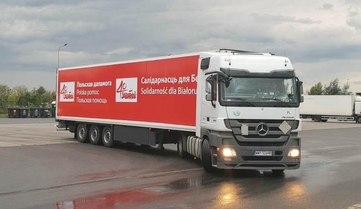 Białorusini nie wpuścili konwoju z pomocą humanitarną z Polski