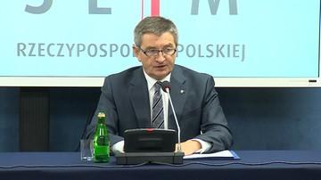 Kuchciński: działałem zgodnie z prawem. Dane o lotach są dostępne w kilku instytucjach
