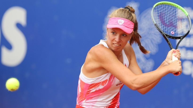 WTA w Chicago: Magdalena Fręch przegrała w pierwszej rundzie