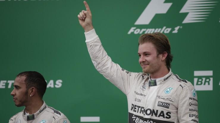 F1: Rosberg wygrał GP Brazylii i został wicemistrzem świata