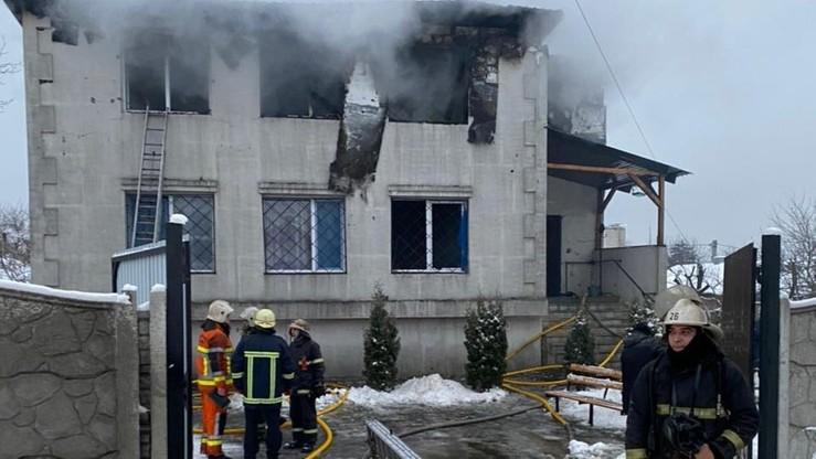 Pożar w domu seniora na Ukrainie. Są ofiary śmiertelne