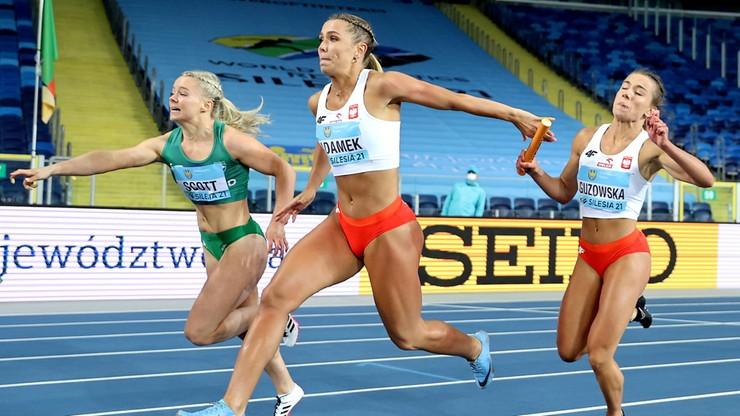 MŚ w sztafetach: Polki ze srebrnym medalem na 4x100 m