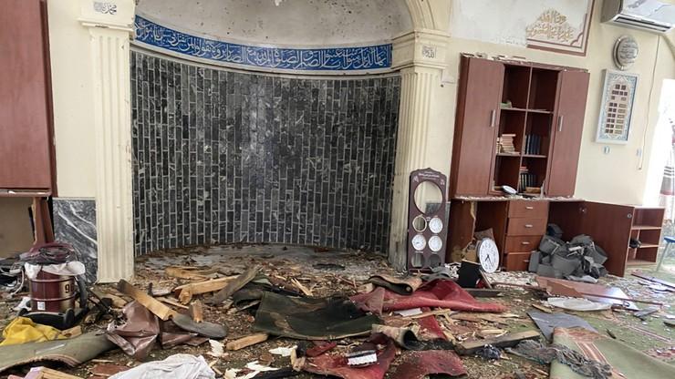 Eksplozja w meczecie. Zginęły co najmniej 4 osoby