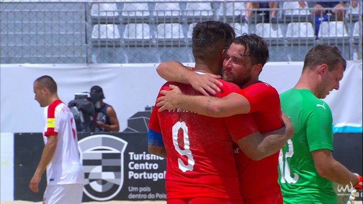 Beach soccer: Polacy prowadzili 4:0, ale przegrali ze Szwajcarią