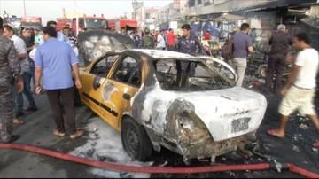 12 ofiar zamachu bombowego w Bagdadzie