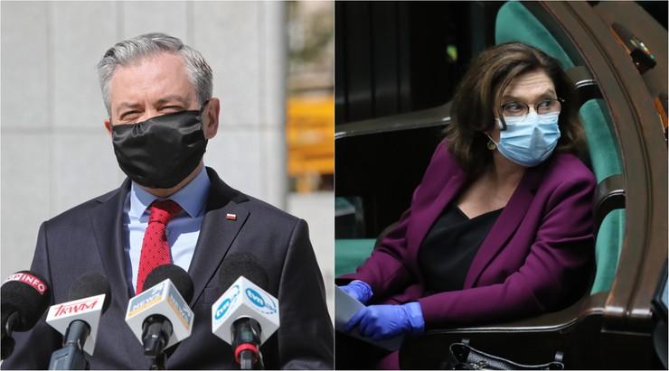 Opozycyjni kandydaci i politycy krytycznie o stanowisku ministra zdrowia
