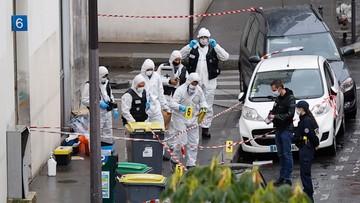"""Atak nożownika w Paryżu. Sprawca myślał, że atakuje redakcję """"Charlie Hebdo"""""""
