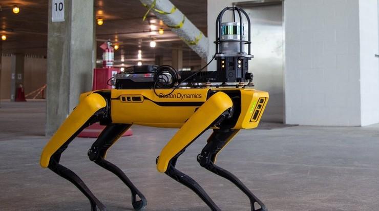 Pies-robot w nowojorskiej policji. Zainteresowanie i krytyczne głosy
