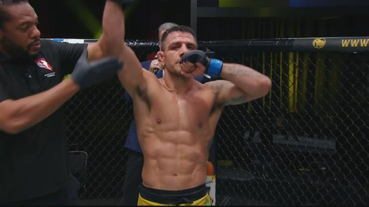 UFC Vegas 14: Zwycięstwo Rafaela dos Anjosa po zaciętym pojedynku