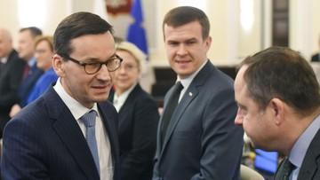 Pierwszy sondaż po rekonstrukcji. 42 proc. zwolenników, 14 proc. przeciwników rządu Morawieckiego