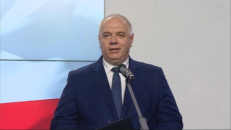 Sasin o przyszłości szefowej kancelarii Sejmu i dyrektora CIS, stawkach podatkowych oraz lotach